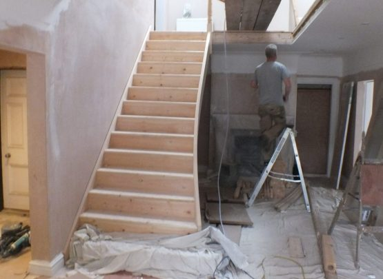 If Your Staircase Doesn T Have A Feature Step Then This Would Mean That You Need To Replace The Newel Post And Remove Part Of Stringer Accommodate