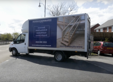 Staircases Delivery Van