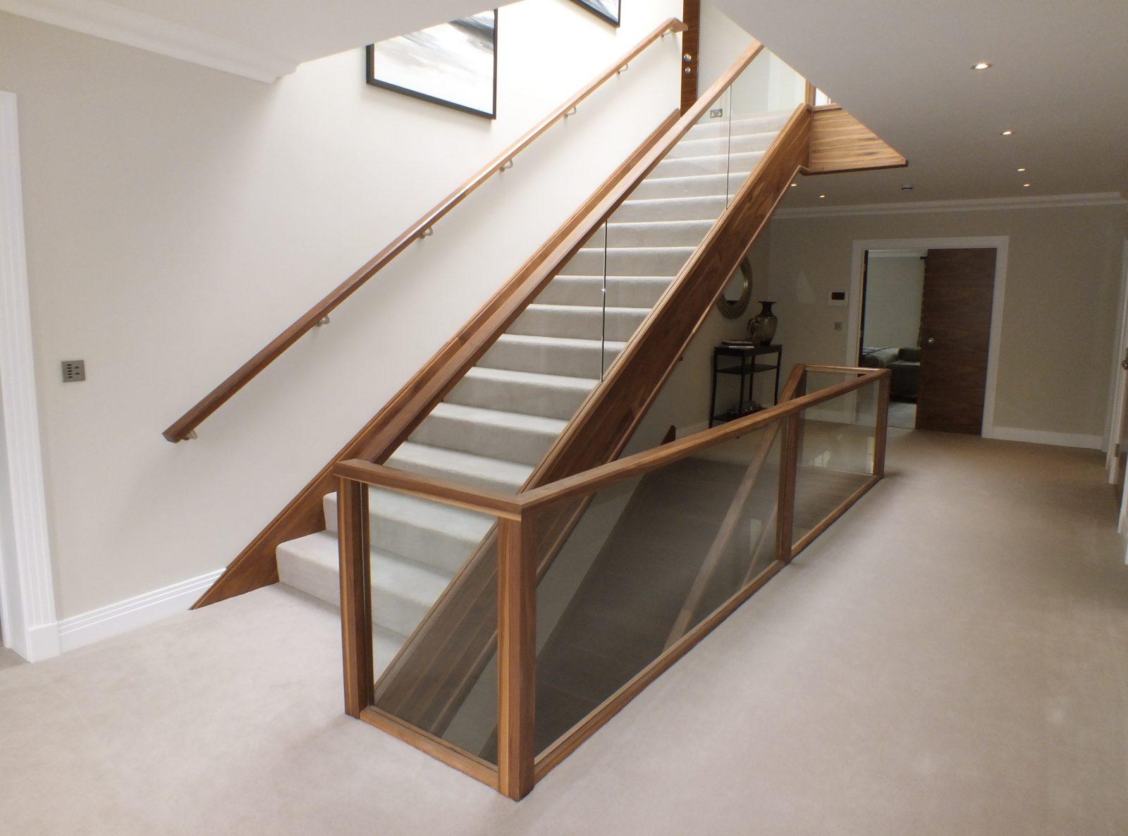 glass staircase design manufacture edwards hampson ltd