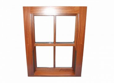 box frame window