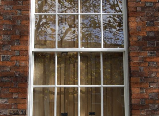 box frame window Georgian bars