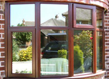 sapele bay window