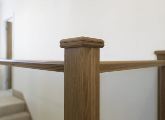 Oak Newel Cap