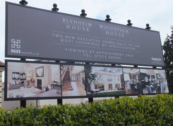 luxury home billboard